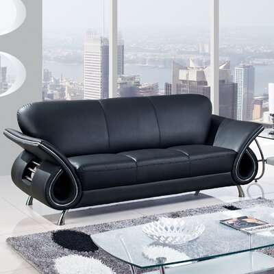 Sofa Finish: Black
