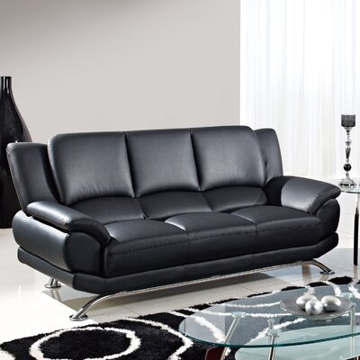 Sofa Color: Black
