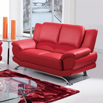 U9908-R6V-RED-L Global Furniture USA Sofas
