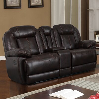Console Reclining Sofa