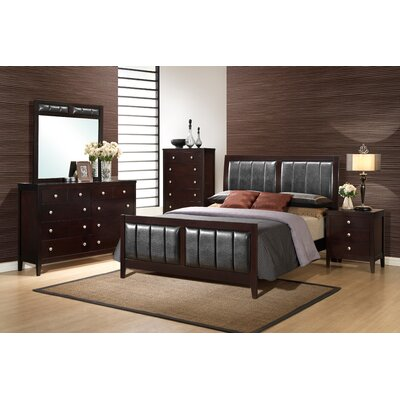 Rosa Panel Bed Customizable Bedroom Set