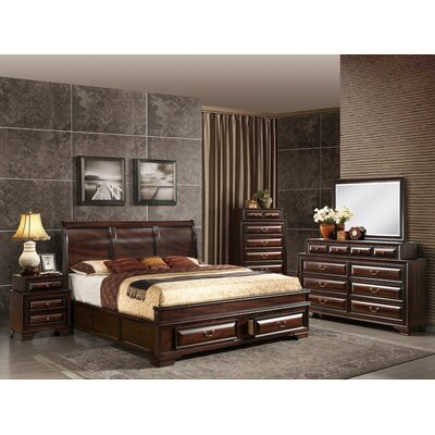 Sarina Panel Configurable Bedroom Set