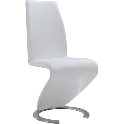 Side Chair (Set of 2) Upholstery: White