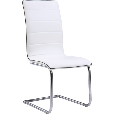 Side Chair (Set of 4) Upholstery: White