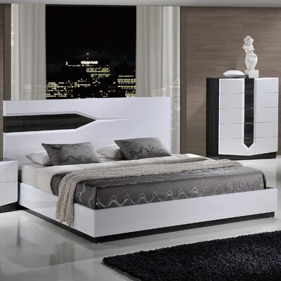 Hudson Panel Bed Size: King