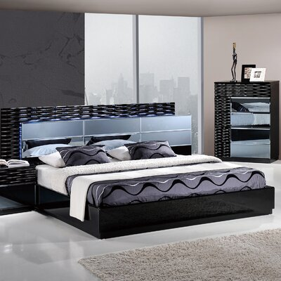 Manhattan Panel Bed Size: King