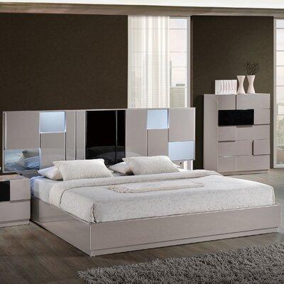 Bianca Panel Bed Size: Queen