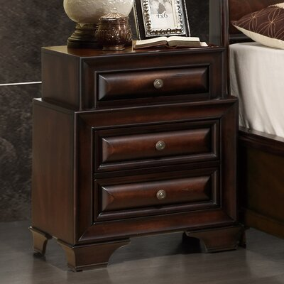 Sarina 3 Drawer Nightstand