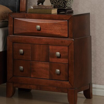 Oasis 3 Drawer Nightstand