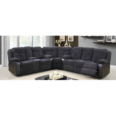 Global Furniture USA U1566-JASMINE MOUSE-Sec (M) Jasmine Mouse Sectional