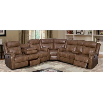 U7303C – BLANCHE WALNUT – SECTIONAL (M) Global Furniture USA Sectionals