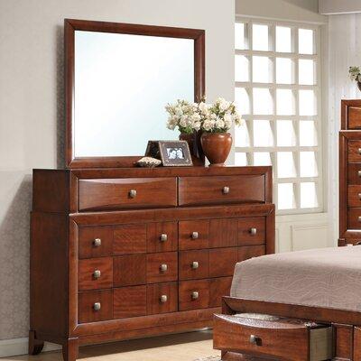 Oasis 8 Drawer Dresser with Mirror