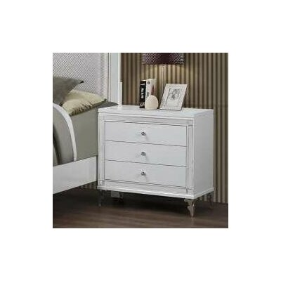 Catalina 3 Drawer Nightstand