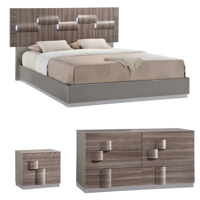 Rutherford Platform Configurable Bedroom Set