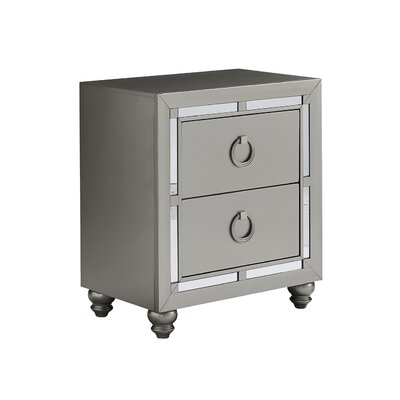 Rosaline 2 Drawer Nightstand