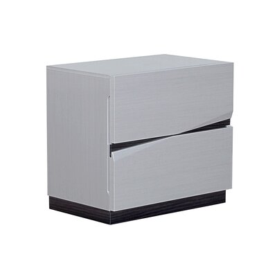 Landwehr 2 Drawer Nightstand