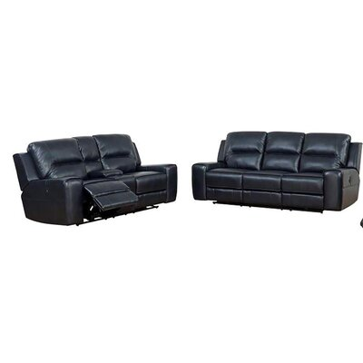 Pinedo 2 Piece Living Room Set