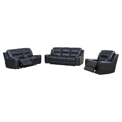 Pinegar 3 Piece Living Room Set