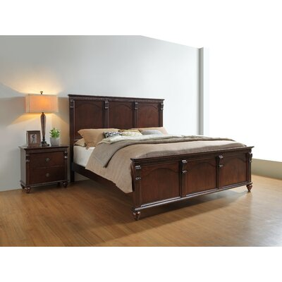 Thurlos Panel Bed Size: King