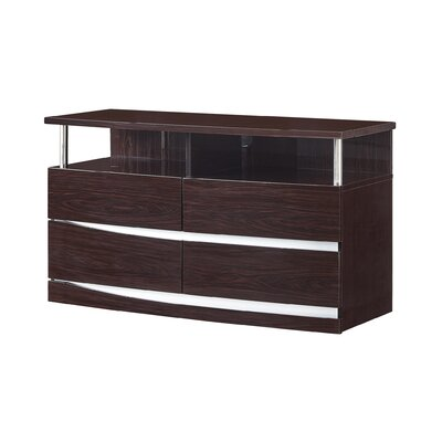 Aurora Entertainment Center Color: Wenge