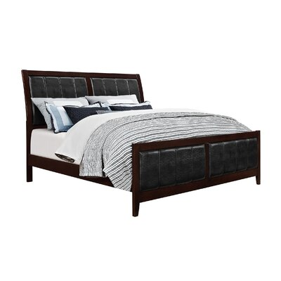 Honeycutt Upholstered Panel Bed Size: Queen