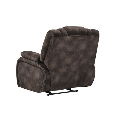Gabe Adjustable Headrest Power Glider Recliner