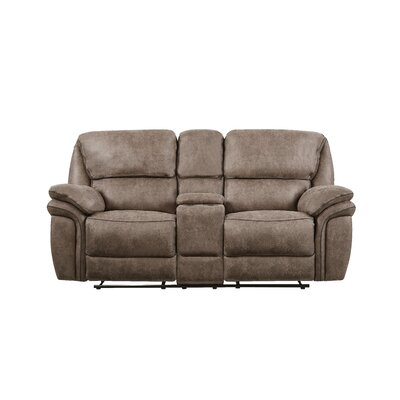 Dasheil Extra Plush Console Reclining Loveseat