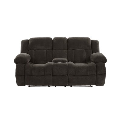 Tejal Console Reclining Loveseat