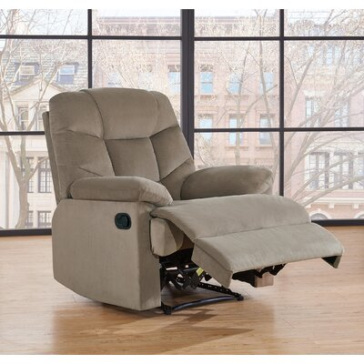 Snehal Biscuit Back Manual No Motion Recliner