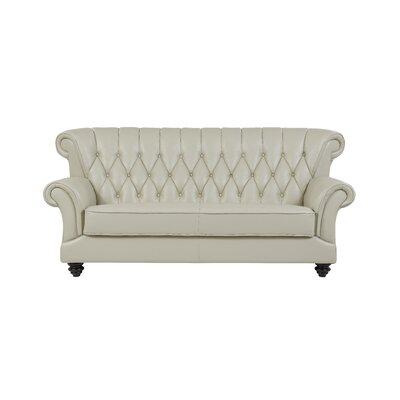 Lipan Tufted Sofa Upholstery: Pearl