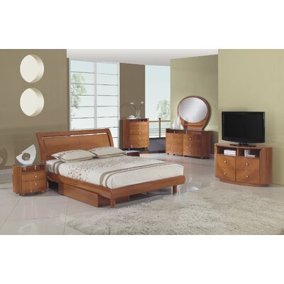 Bedroom Sets - Wood Tone: Dark Wood | Wayfair