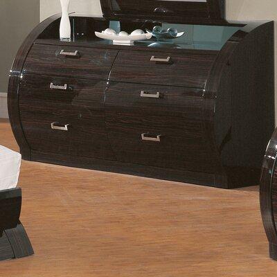 Global Furniture USA Madison 6 Drawer Dresser