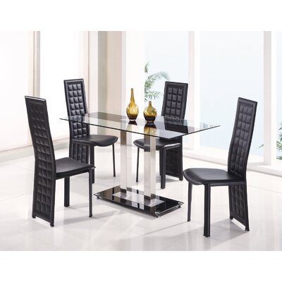 Global Furniture  on Global Furniture Usa Seminole 5 Piece Dining Table Set With Marie