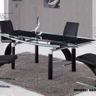 Jolie Dining Table Finish Black