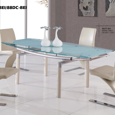 Jolie Dining Table Finish: Beige