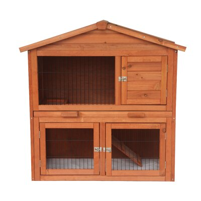 Melvin Wooden Pet House Poultry Hutch Chicken Coop F3AD05B60F484CC7A9A9CA764C36E946
