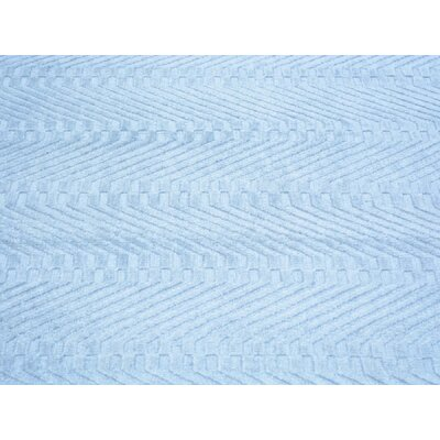 One-of-a-Kind Jeffrey Hand-Knotted Blue Area Rug