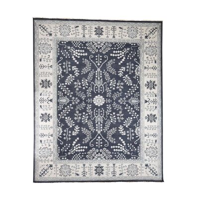 Oritz Oushak Oriental Hand-Knotted Wool Area Rug