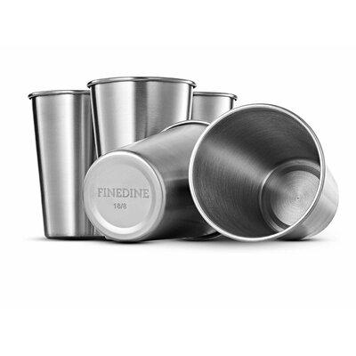 Premium Grade 16 oz. Stainless Steel Pint Glass OMP-B0727WJTGX-FBM