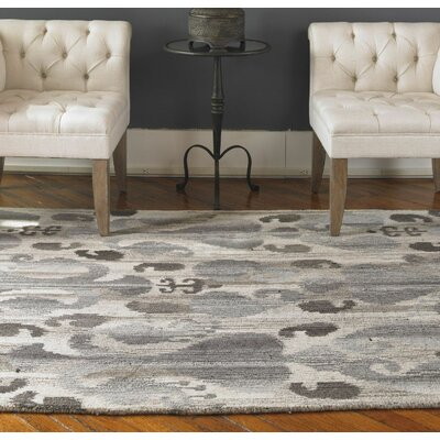 Sepino Gray Rug Rug Size: Rectangle 9 x 12