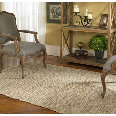 Neidig Hand-Woven Brown/Tan Area Rug Rug Size: 8 x 10