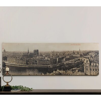 Panorama De Paris by Kowalski Brothers Photographic Print on Canvas 31500