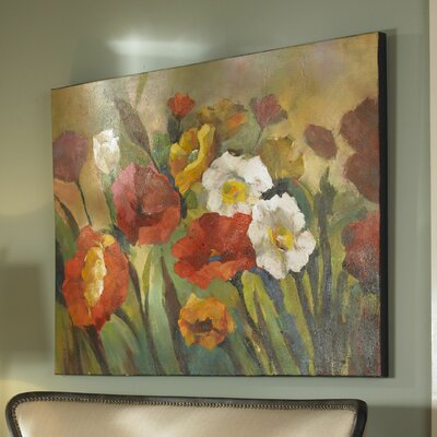 'Spring Has Sprung Floral' Painting on Canvas