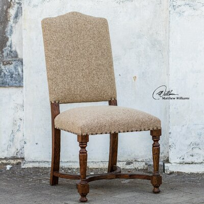 Pierson Textured Linen Side Chair