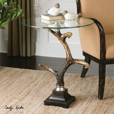 Stag Horn Accent Table 24430