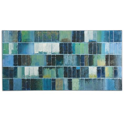 Uttermost Glass Tiles by Billy Moon Painting on Canvas 34300