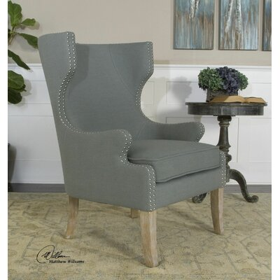 Graycie High Back Wing back Chair