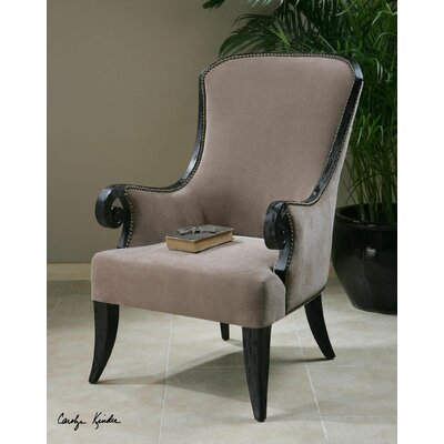 Kandy Taupe Armchair