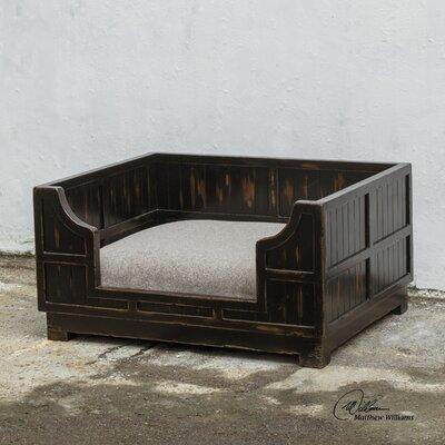 Dezi Wooden Crate Pet Bed