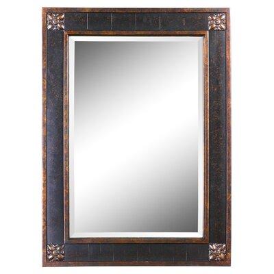 "38"" H x 28"" W Bergamo Rectangular Beveled Vanity Mirror"